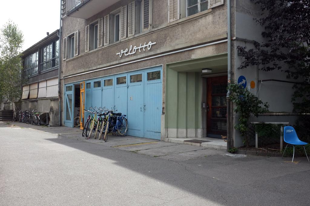 A bike shop