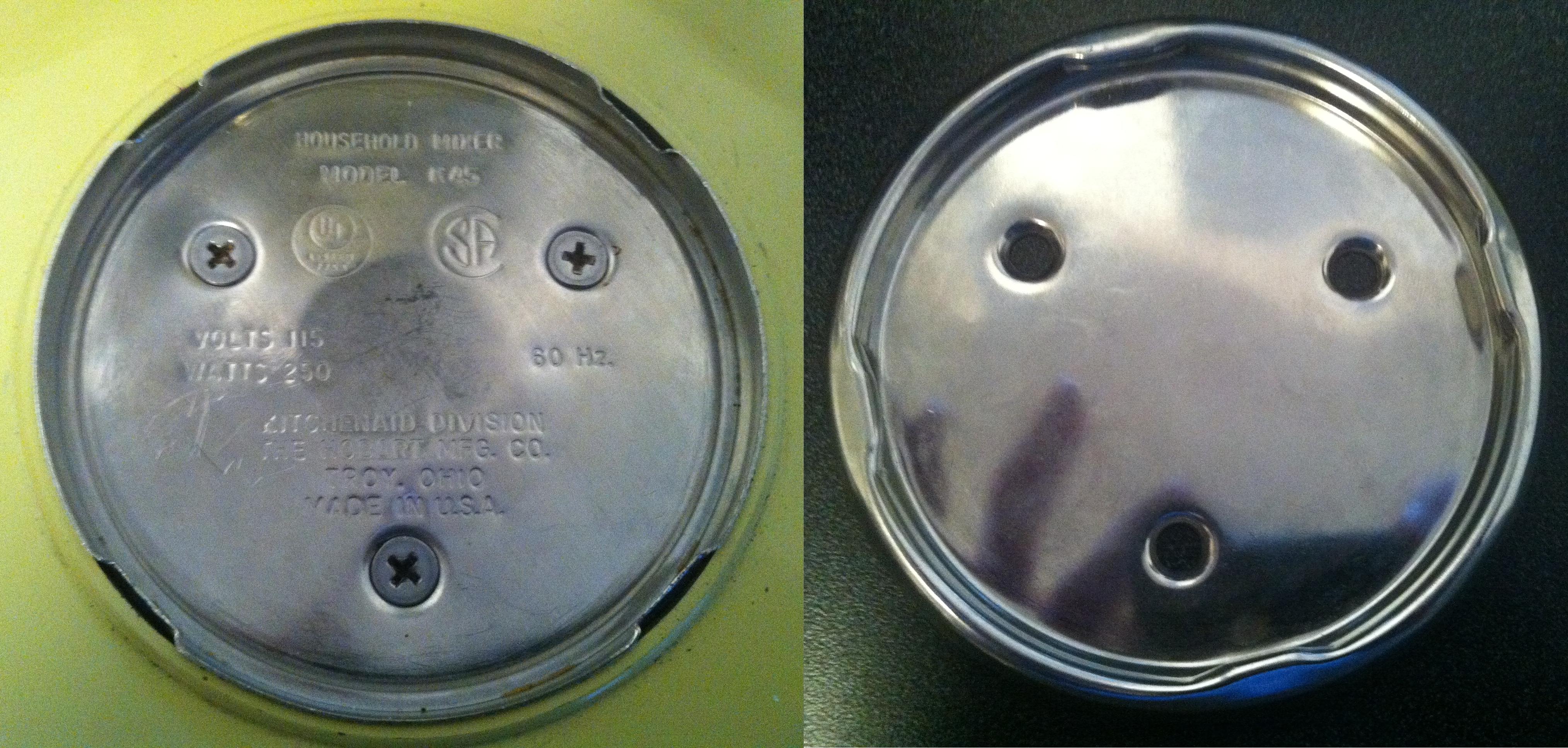 4162529 and 4163032 screw cap kits